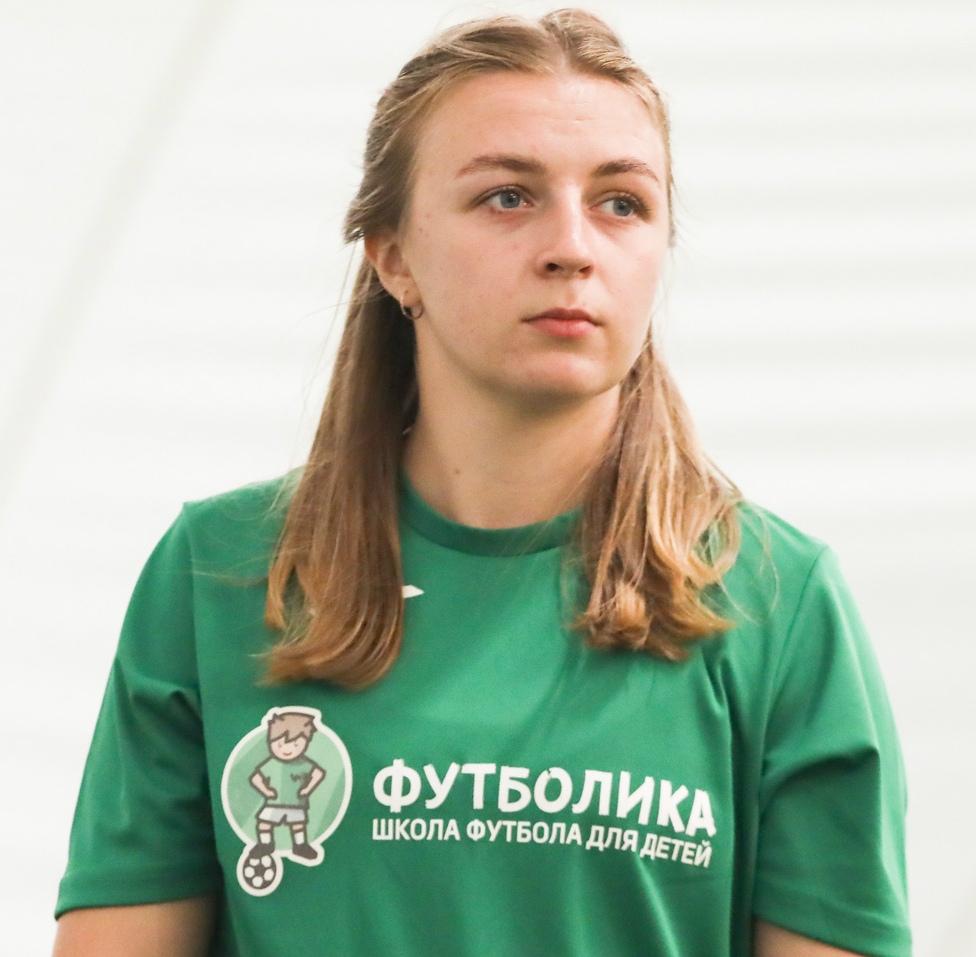 тренер футболики Матвеева Екатерина
