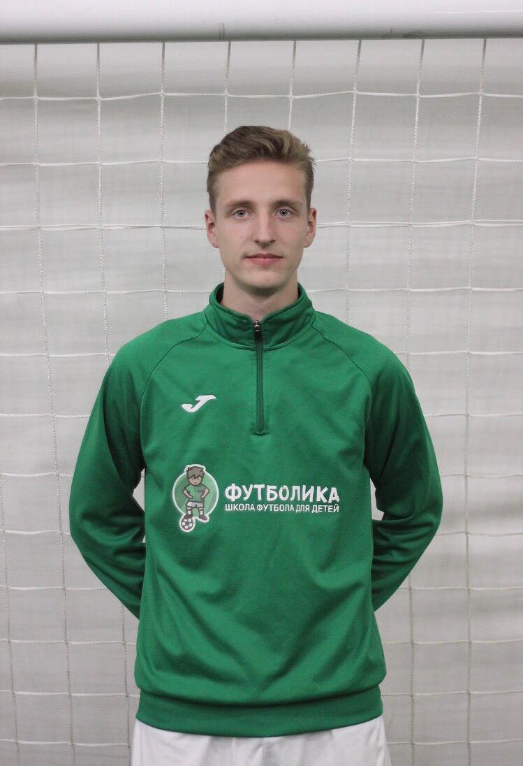 тренер футболики Алданов Илья Александрович