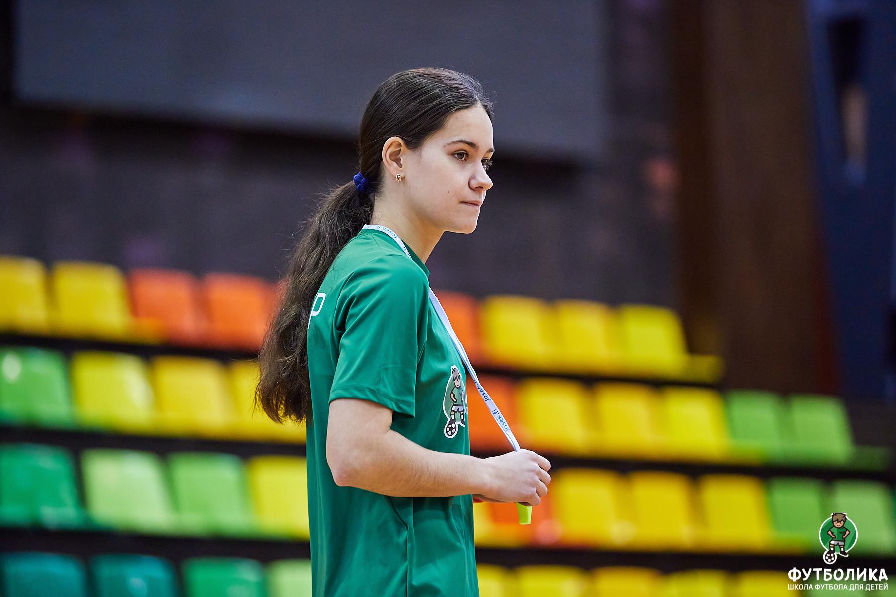 тренер футболики Семилетова Алина