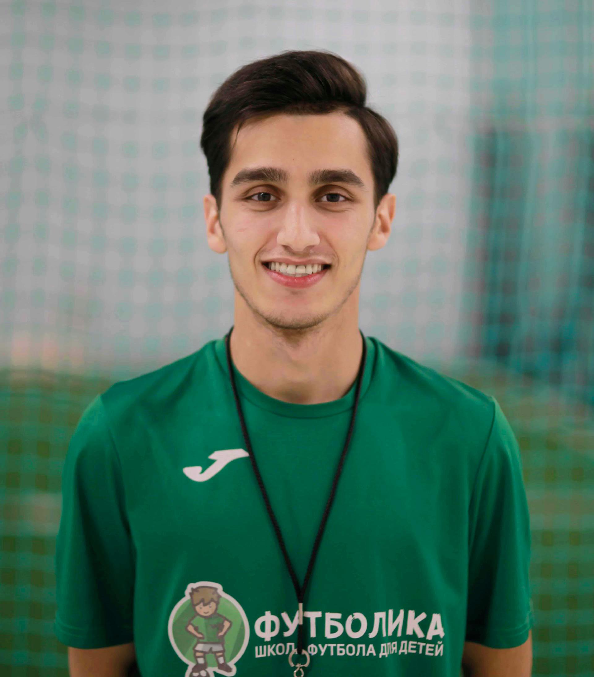 тренер футболики Мамедов Сахиль