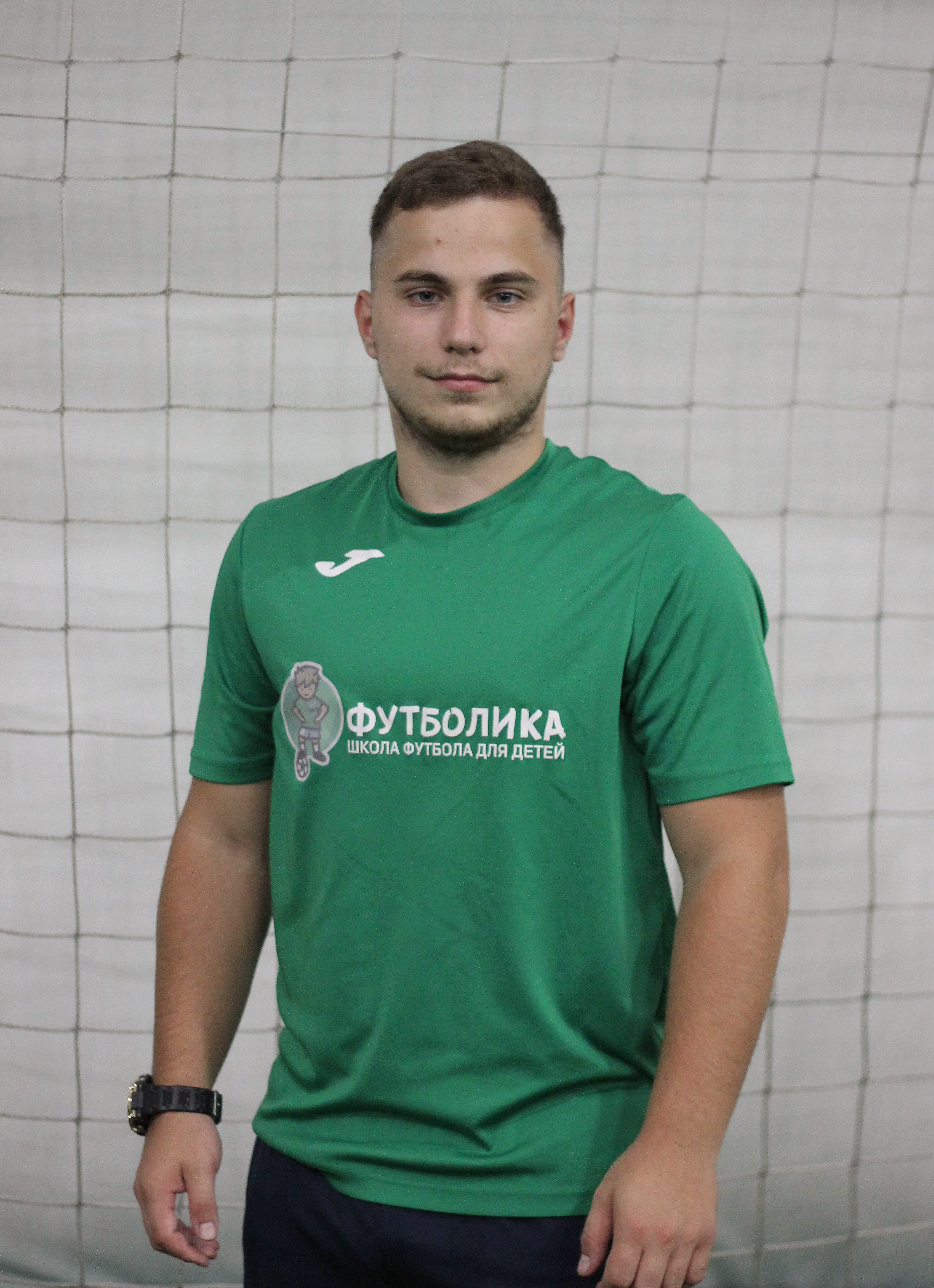 тренер футболики Ларионов Никита Алексеевич