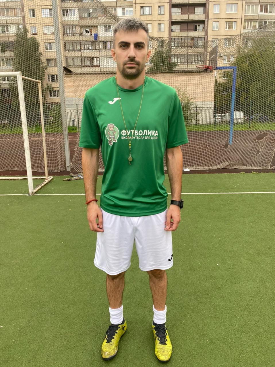 тренер футболики Артур Казинян