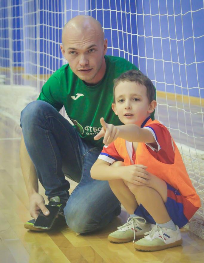 тренер футболики Иван Дрокин